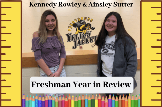 Freshman year in review podcast. Photo by Lucas Fiscus Thumbnail By Grace Reiter