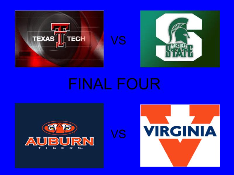 Final Four teams battling for top prize