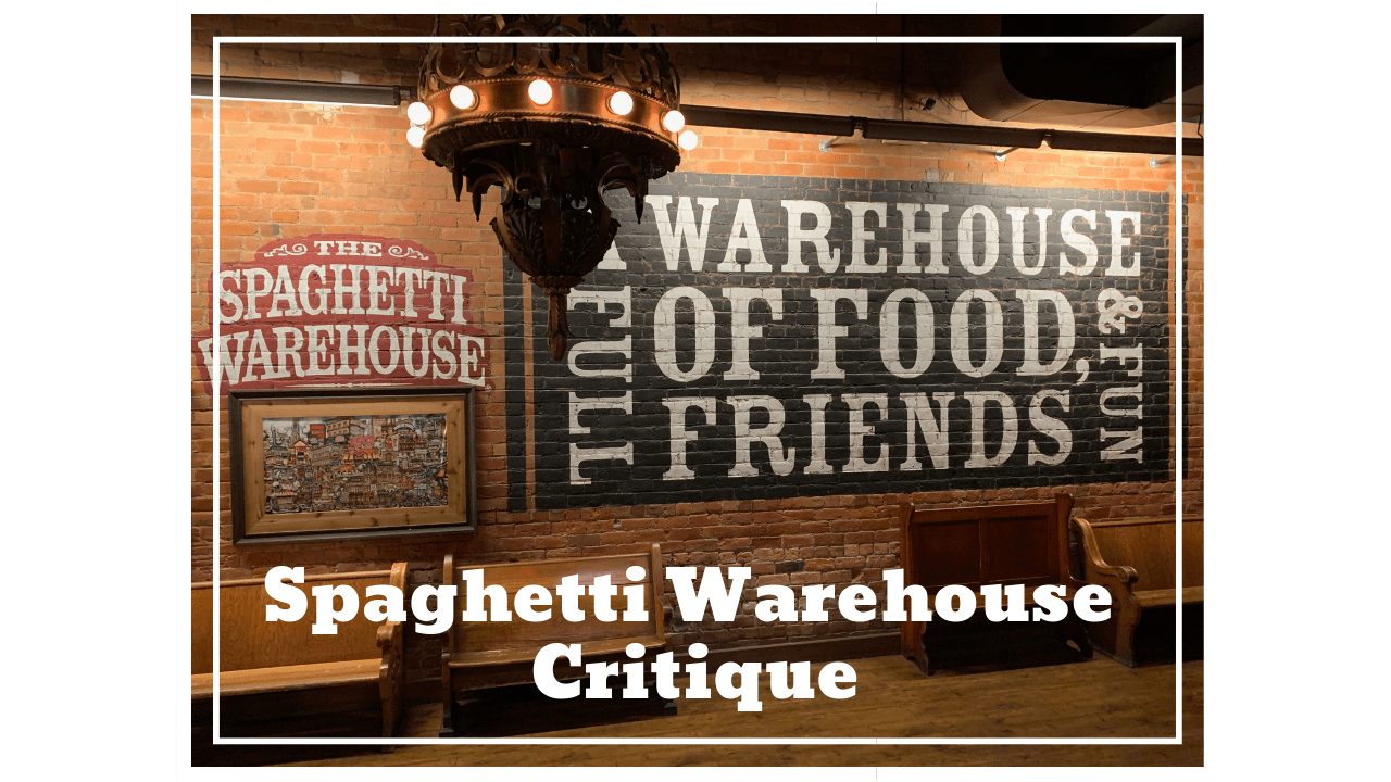 Spaghetti Warehouse Make for Great Evening Eats