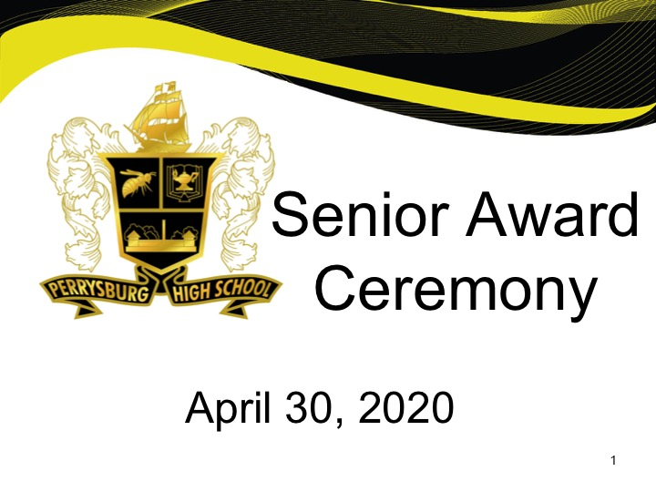 Perrysburg conducts virtual senior awards night ceremony