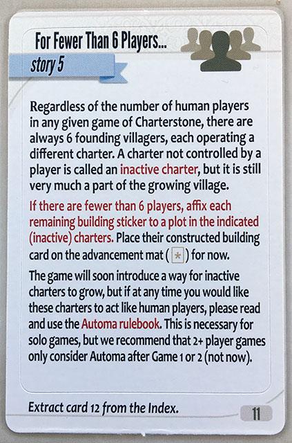 Charterstone Card 11