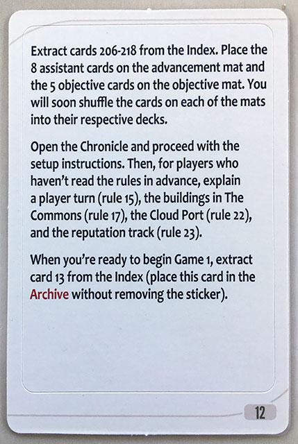 Charterstone Card 12