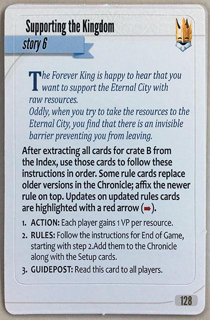 Charterstone Card 128