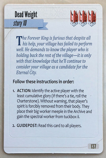 Charterstone Card 137