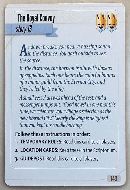 Charterstone Card 143