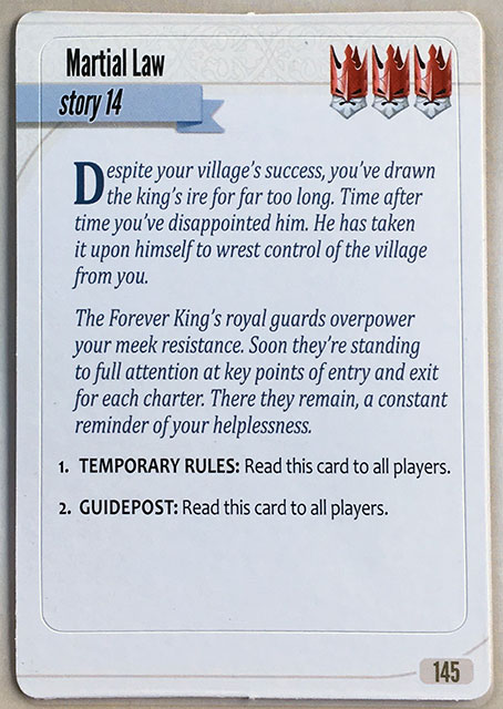 Charterstone Card 145