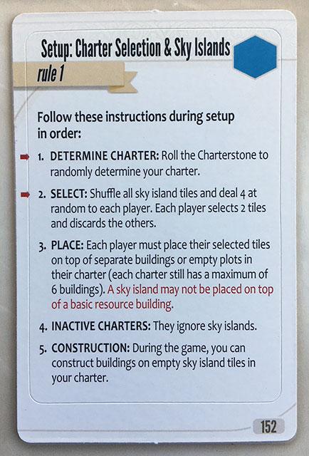 Charterstone Card 152
