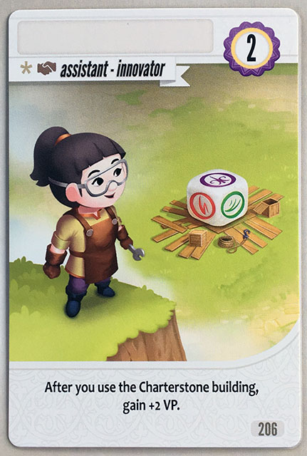 Charterstone Card 206