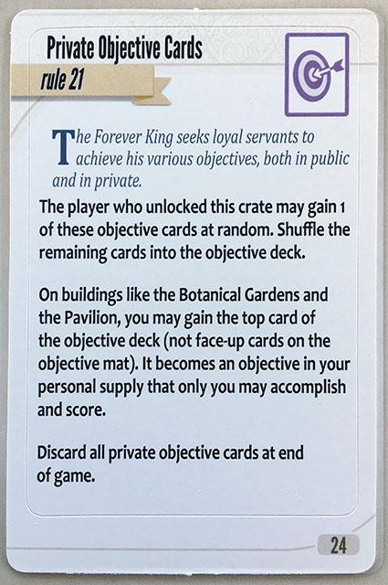 Charterstone Card 24