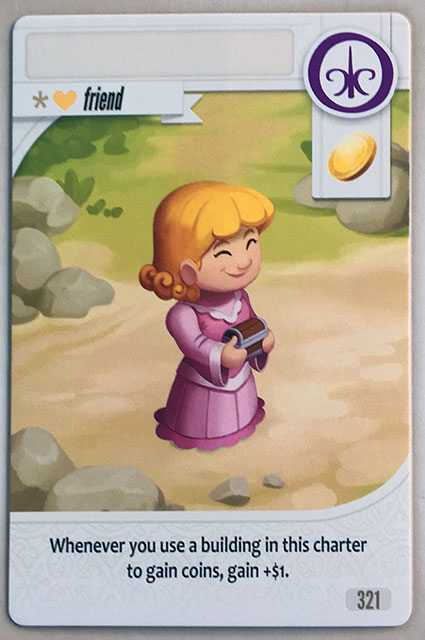 Charterstone Card 321