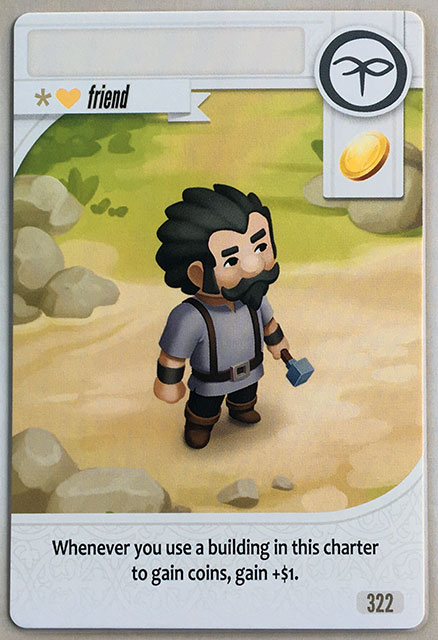 Charterstone Card 322
