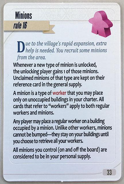 Charterstone Card 33
