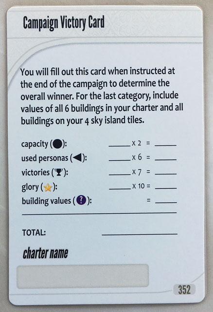Charterstone Card 352