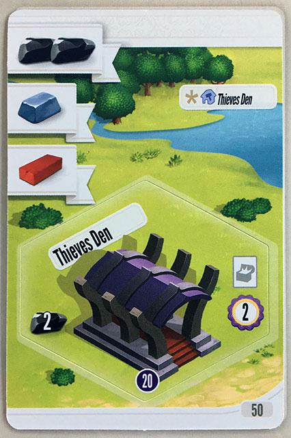Charterstone Card 50