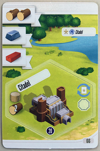 Charterstone Card 66