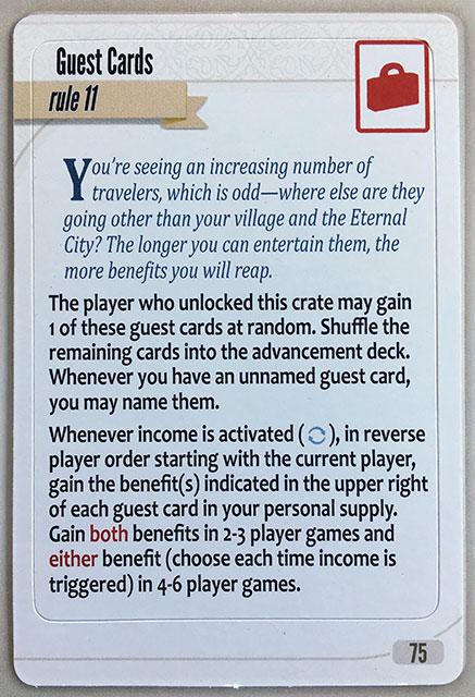 Charterstone Card 75