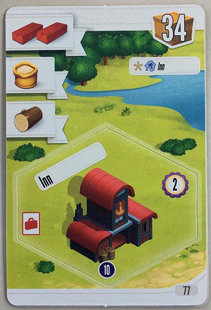 Charterstone Card 77