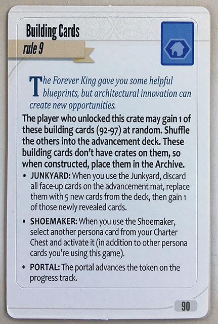 Charterstone Card 90