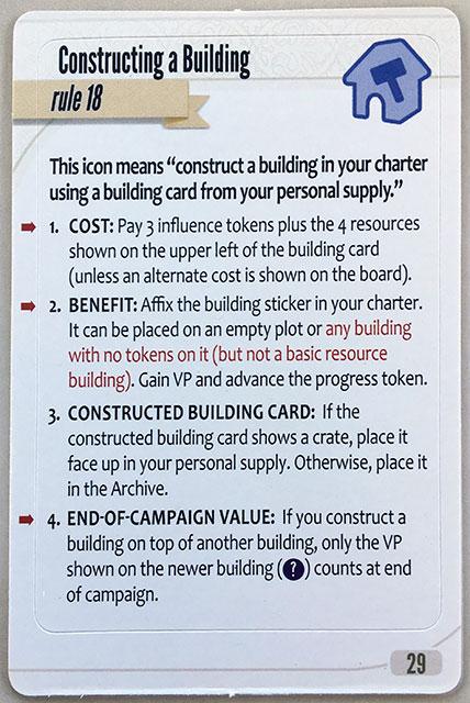 Charterstone Card 29