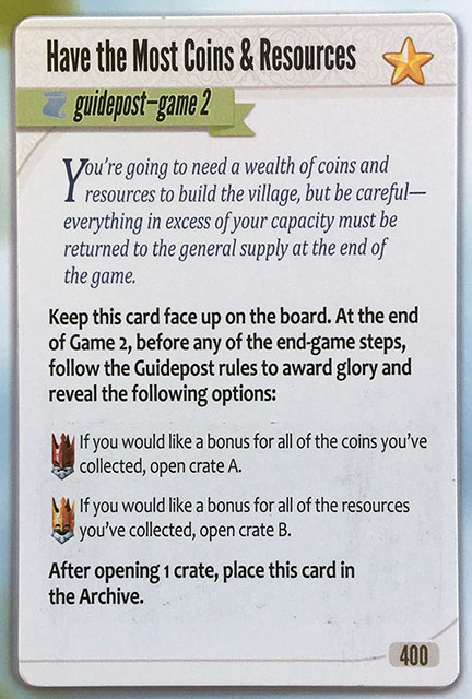 Charterstone Card 400 Revealed