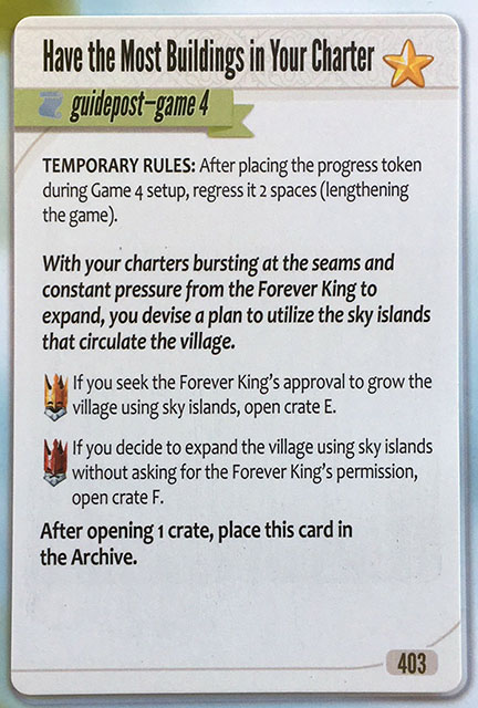 Charterstone Card 403 Revealed