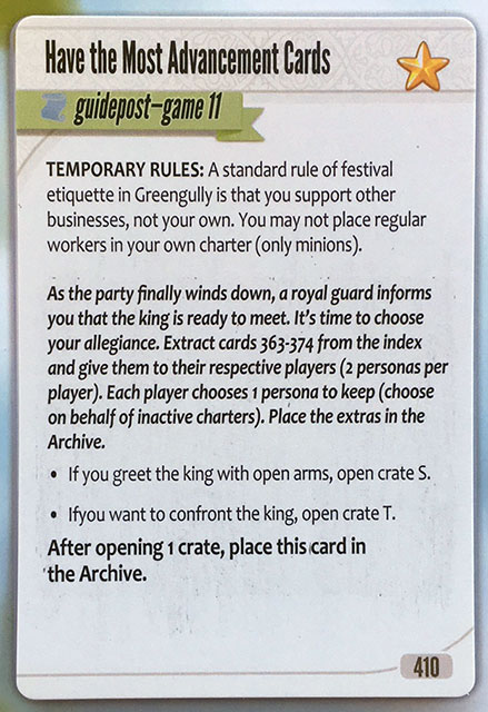 Charterstone Card 410 Revealed