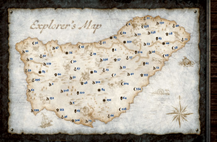 Seafall Explorers Map