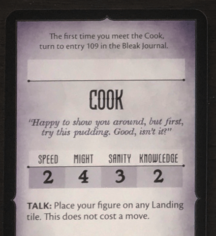 Cook Card