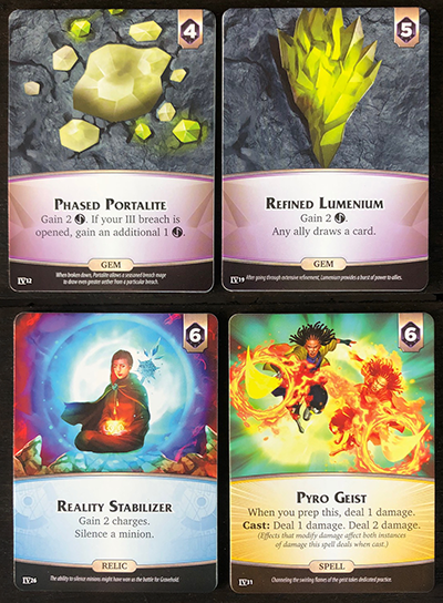 Aeon's End: Legacy - Supply Cards Deck IV