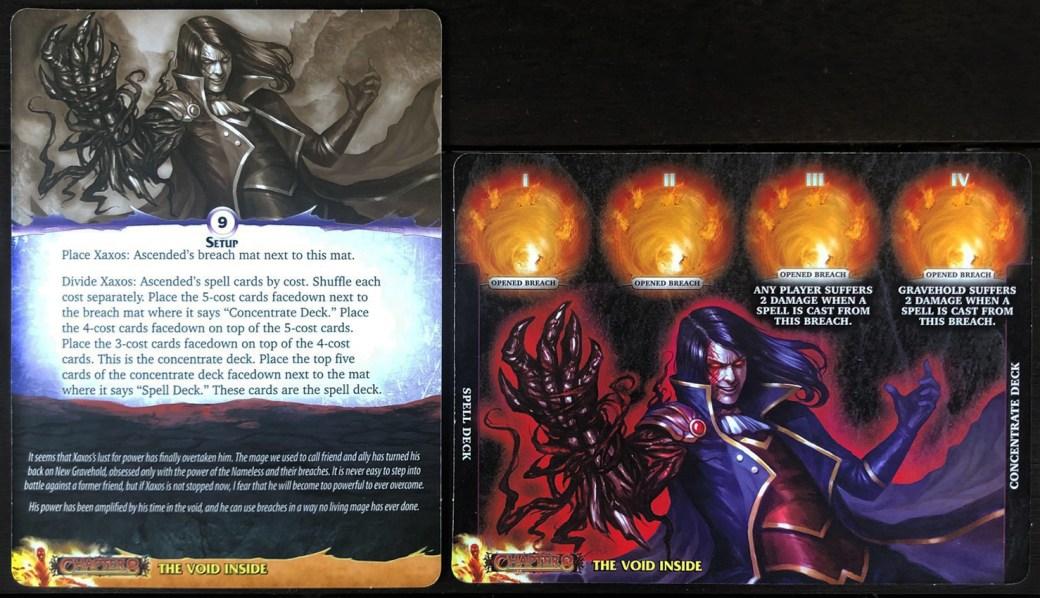 Aeon's End: Legacy - Nemesis 8 Mat Back