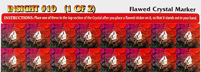 Aeon's End: Legacy - Flawed Crystal Stickers 1
