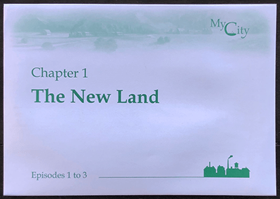 My City: Chapter 1 Envelope