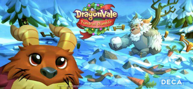 Dragonvale Winter 2020 Banner
