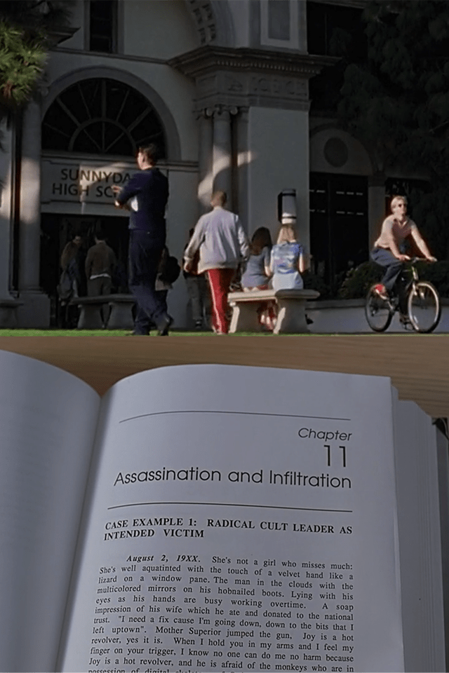 Buffy the Vampire Slayer S1.11 First and Last Frames