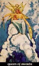 Queen of Swords Thoth Tarot Card Tutorial
