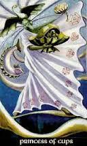 Princess of Cups Thoth Tarot Card Tutorial