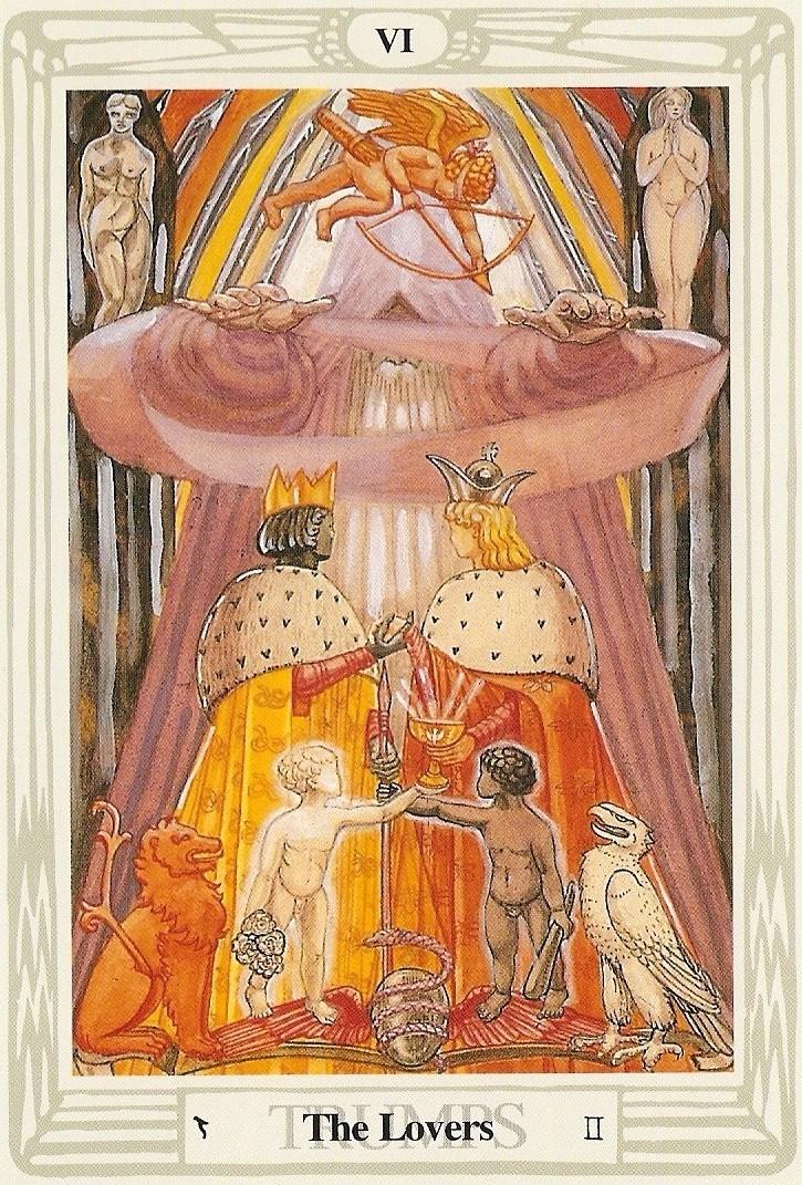 Thoth Lovers Tarot Car...