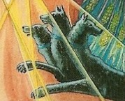 thoth hermit tarot card