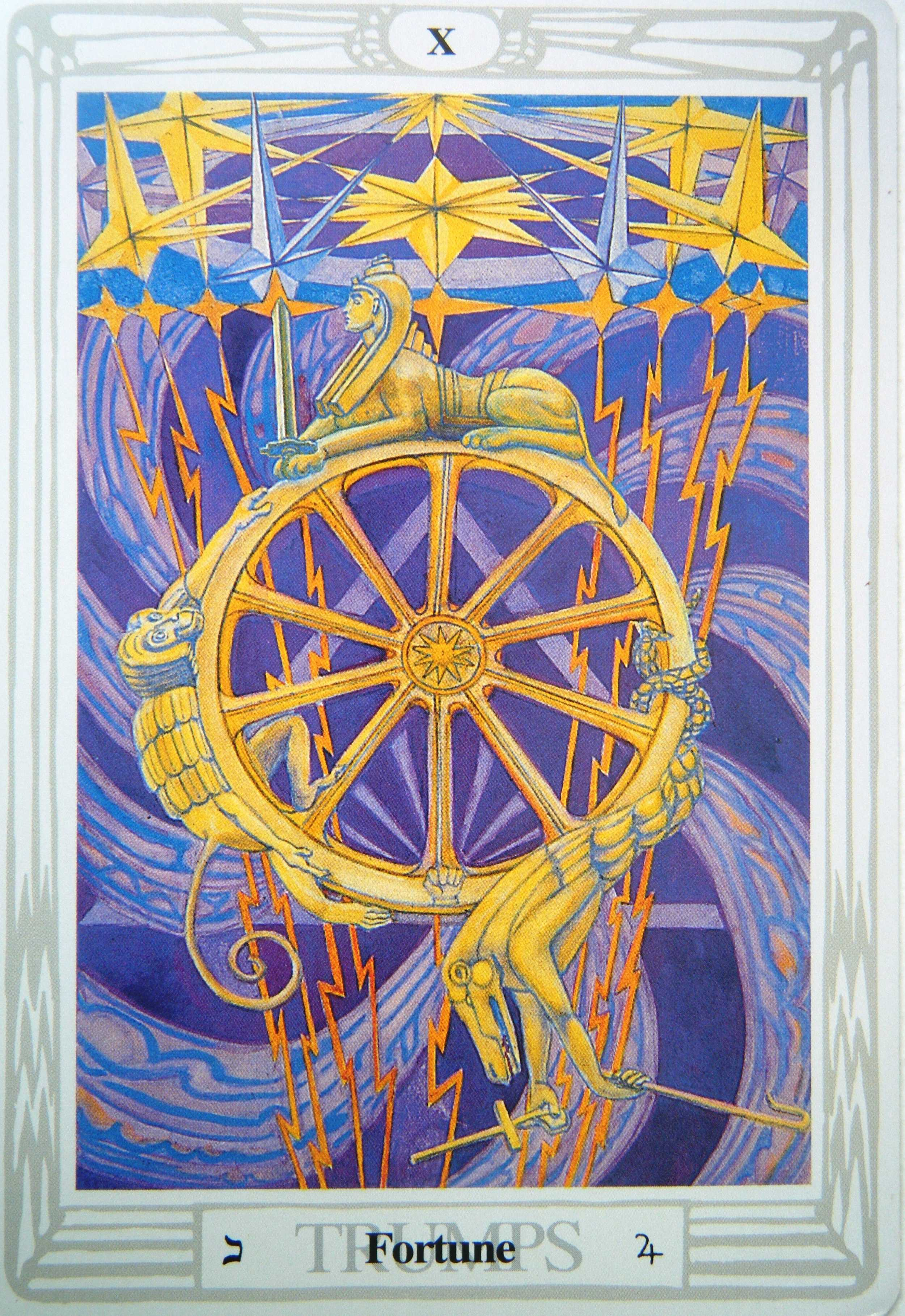 thoth fortune tarot card