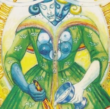 Thoth Art Tarot Card