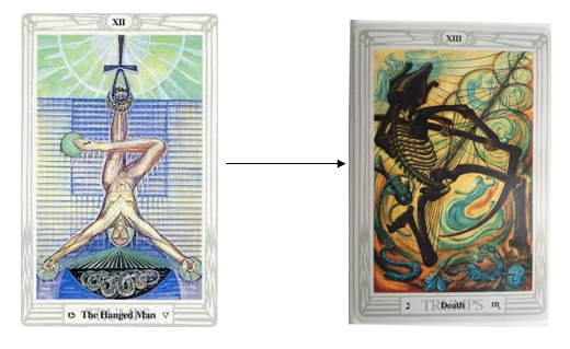 Thoth Death Tarot Card
