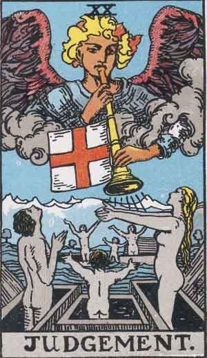 Thoth Aeon Tarot Card