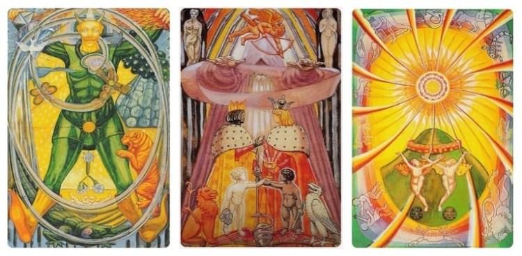 Thoth Sun Tarot Card