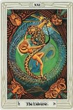 Thoth Universe Tarot Card
