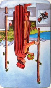 Two of Wands rider waite tarot