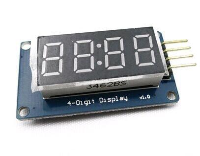 ESP32 and TM1637 7 segment display example | ESP32 Learning