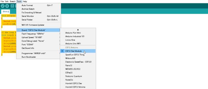 ESP32 Dev Module