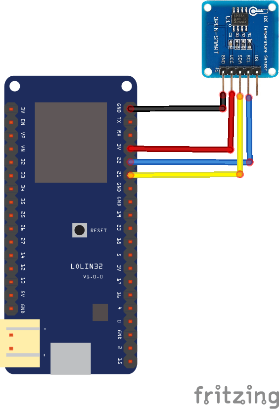 ESP32 and lm75