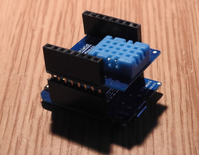 wemos and dht11