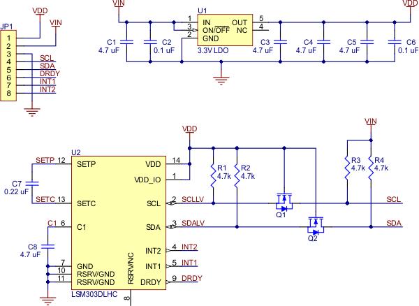lsm303-module-schematic